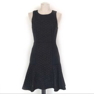 J. Crew Collection Eyelet Fit & Flare Size 2